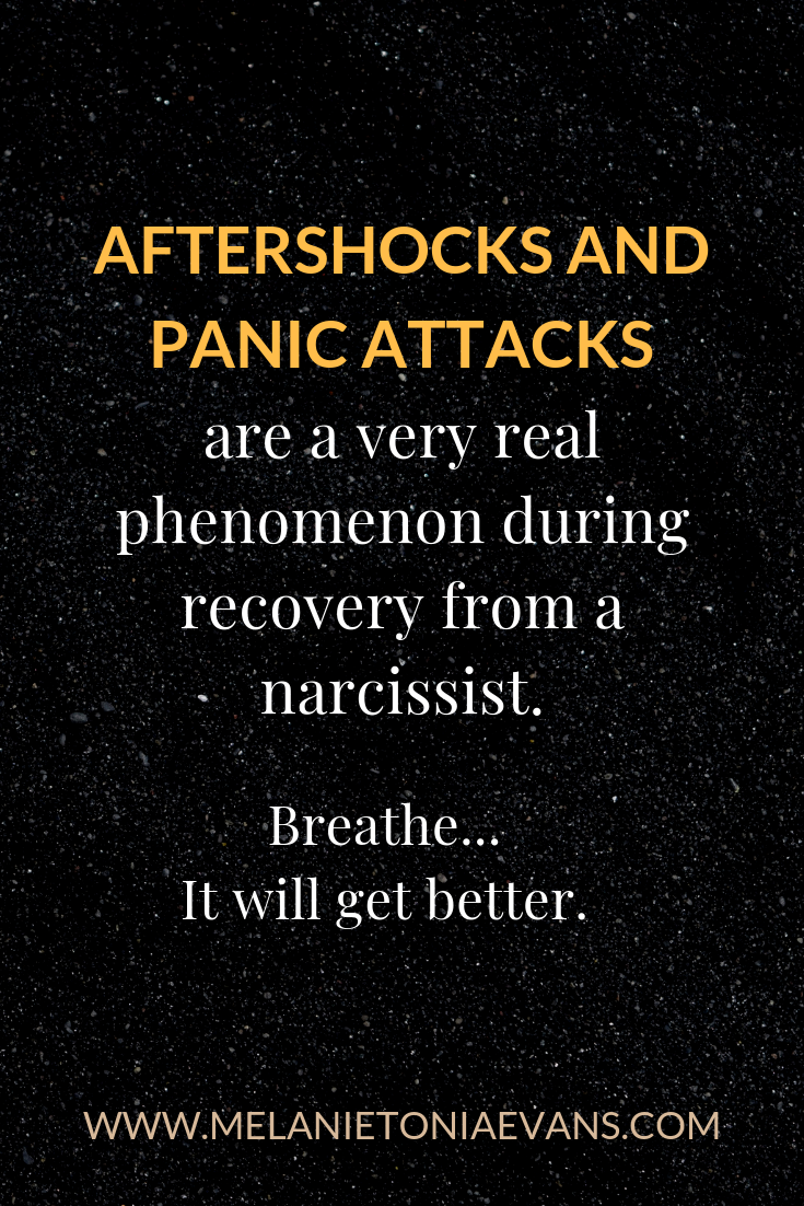 Aftershocks and panic attacks are a very real phenomenon during