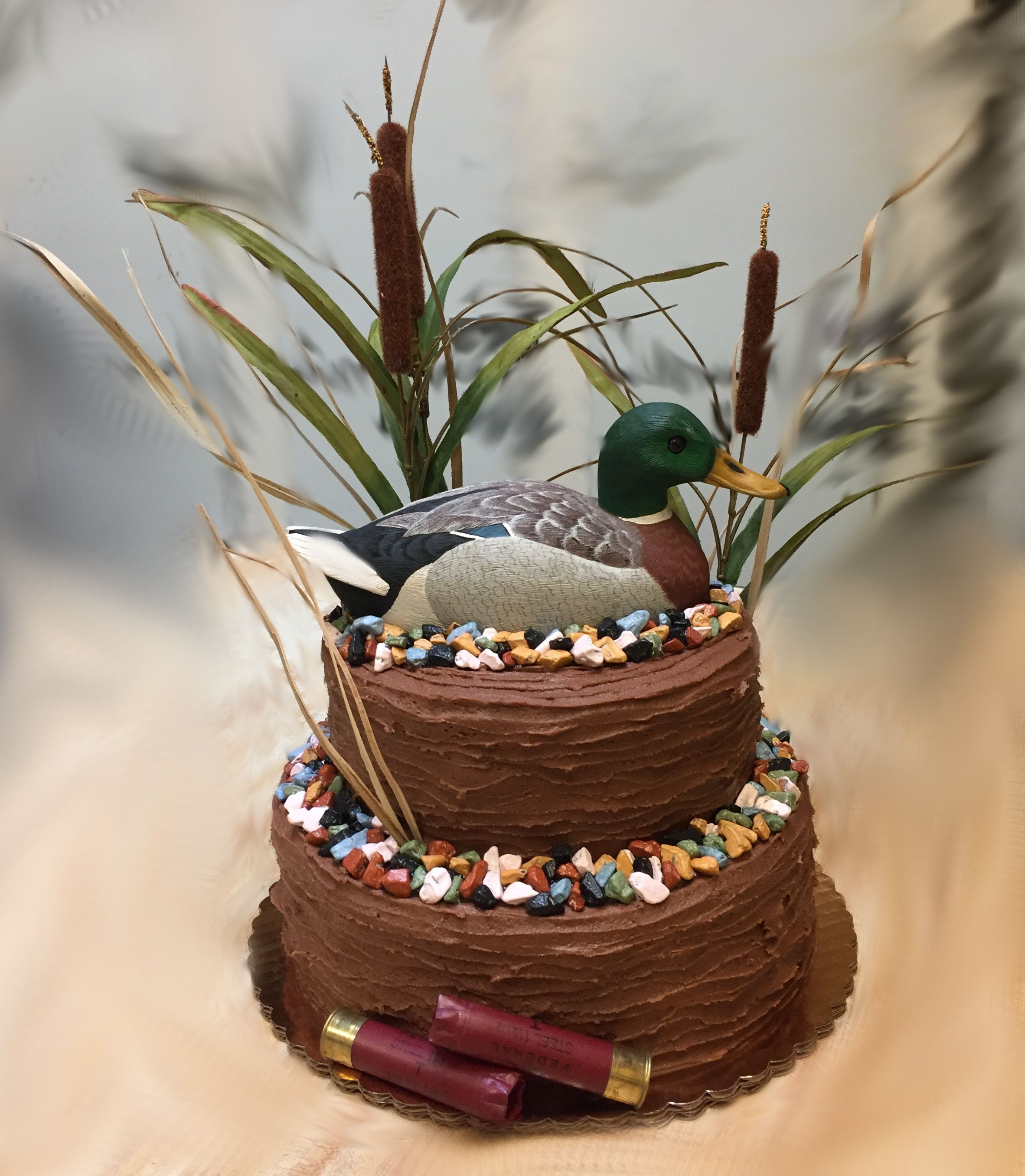Fabulous Duck Hunting Cake Westhampton Pastry Shop Richmond Va With Funny Birthday Cards Online Bapapcheapnameinfo