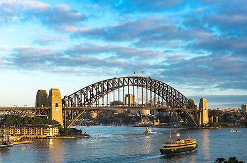 THE SYDNEY HARBOUR BRIDGE - world's largest, but nhot the longest, steel arch bridge.33 Awe-Inspiring Bridges You Need To Cross In Your Lifetime