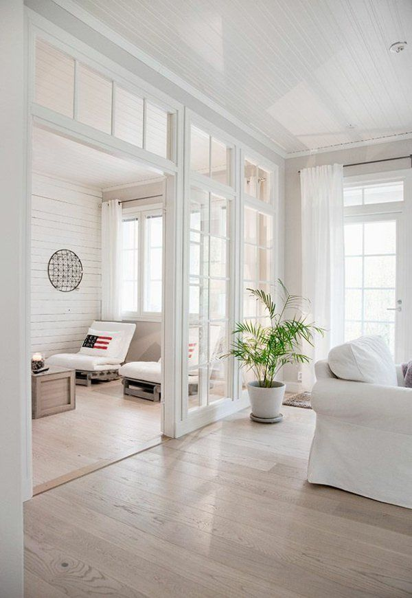 trennwände wohnzimmer raumteiler aus holz und glas Mein Heim - wohnzimmer ideen grau