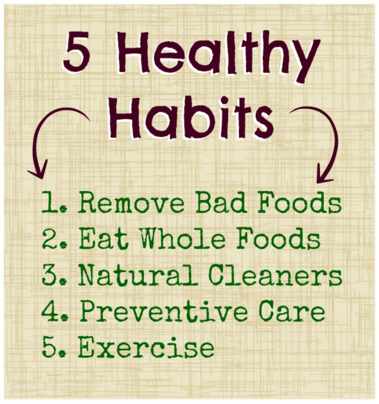 For good health what to eat - 5 Healthy Habits For You Your Family Holiday Edition