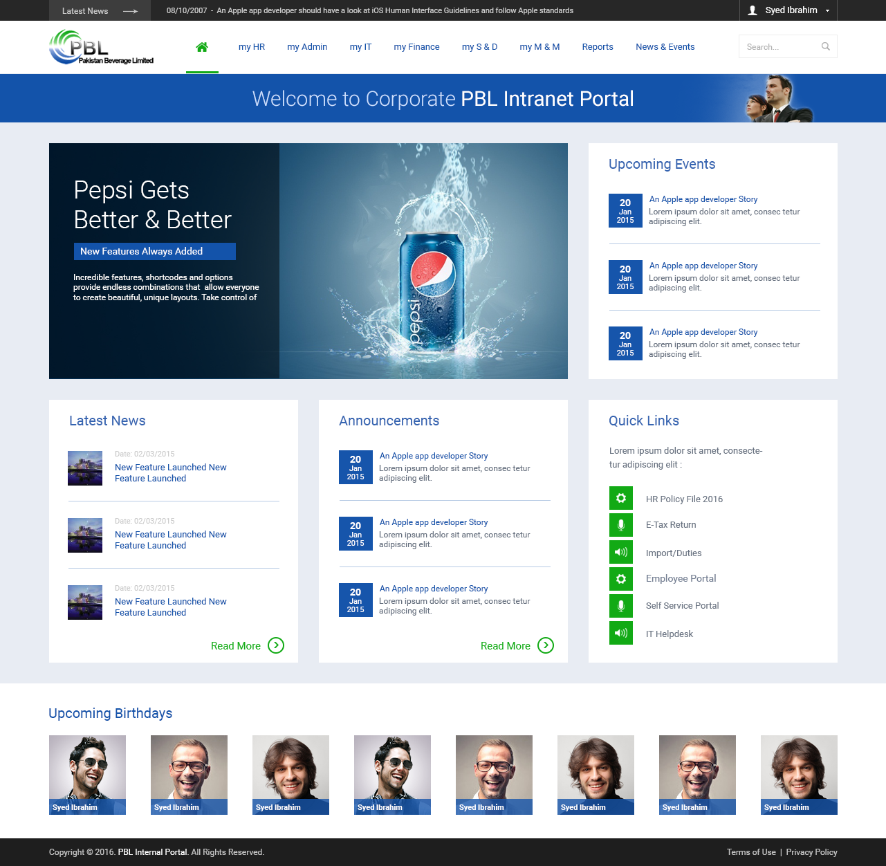 Pin by mark lavery on sp13 pinterest sharepoint for Portale design