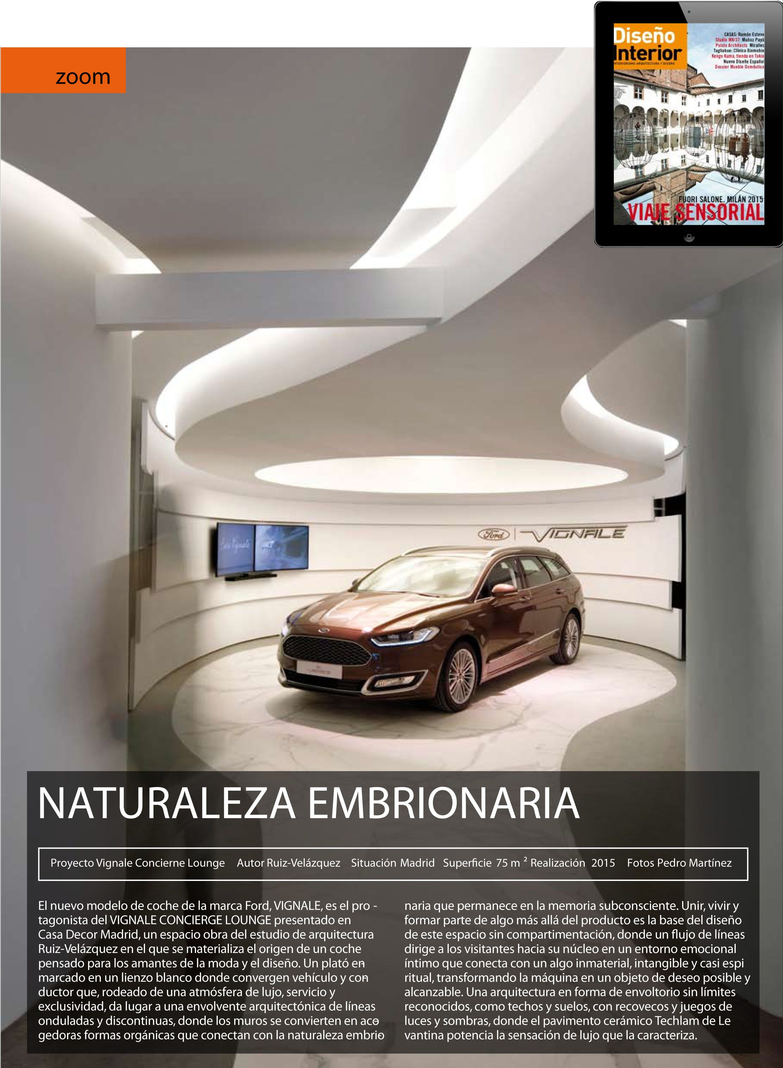 Ford Vignale Lounge Hector Ruiz Velazquez Ruiz Lounge Y Ford