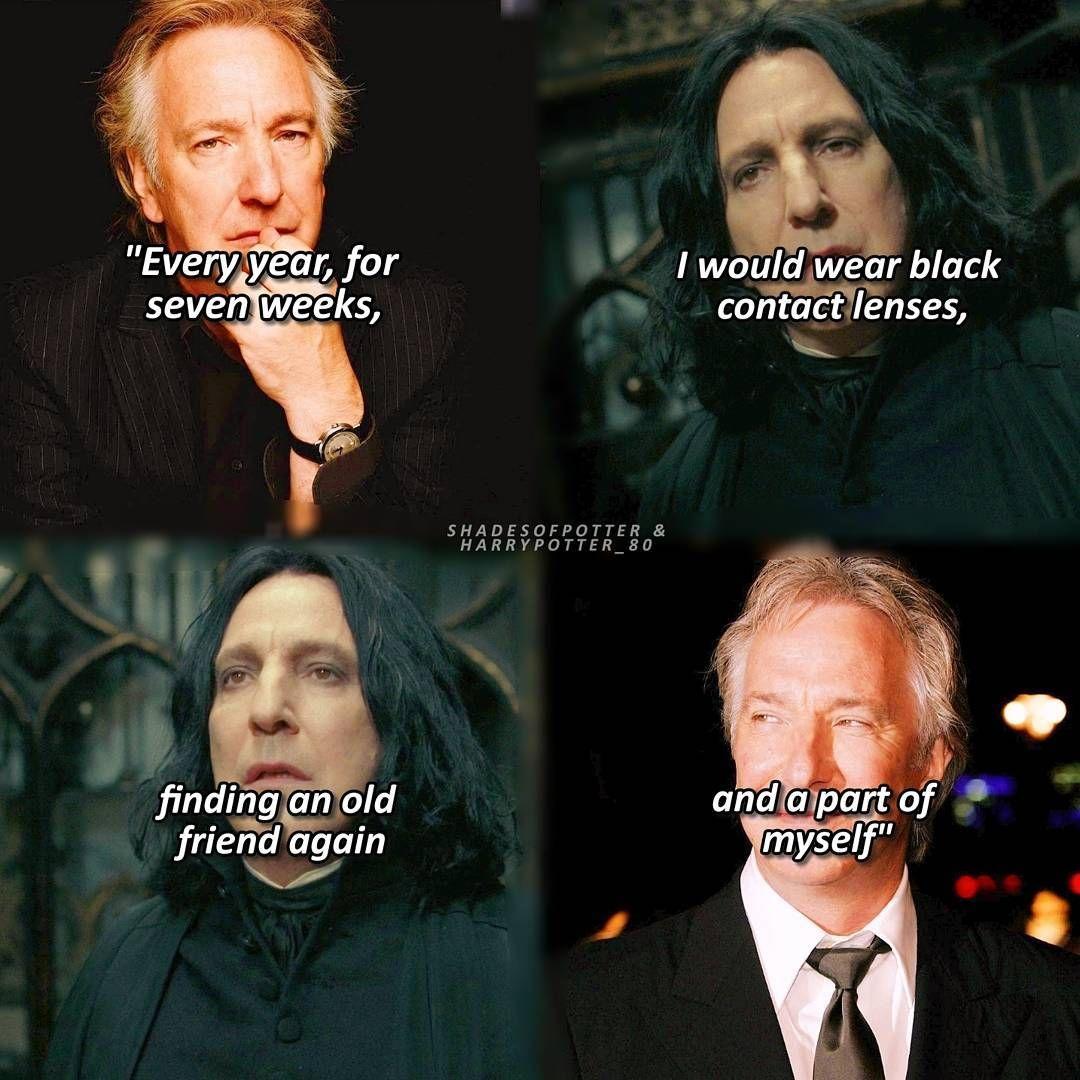 Mi Piace 9 741 Commenti 77 Harry Potter Shadesofpotter Su Instagram Alanr Harry Potter Severus Snape Harry Potter Severus Harry Potter Universal