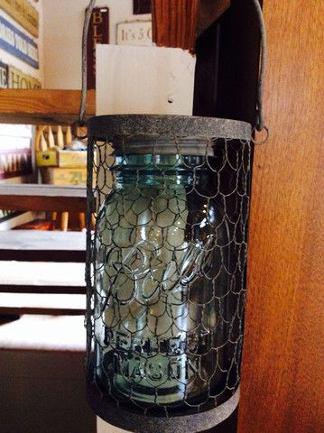 Mason Jar Hanging Caddy- Chicken Wire – Red Barn Company Store