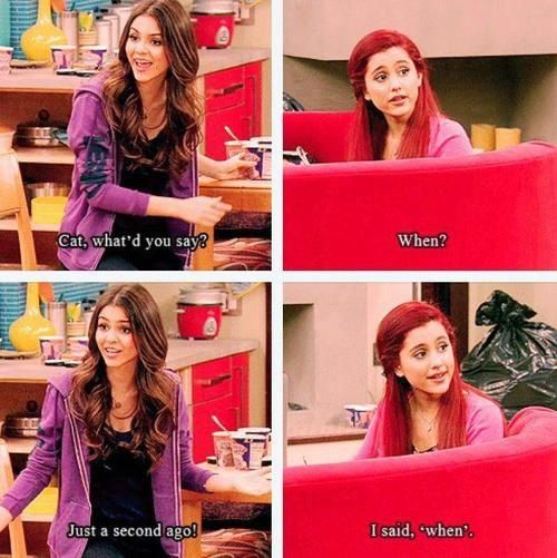 Cat Valentine Quote With Images Icarly And Victorious