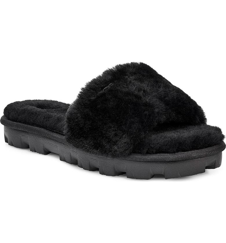 ec133d75819 Free shipping and returns on UGG® Cosette Genuine Shearling Slipper ...