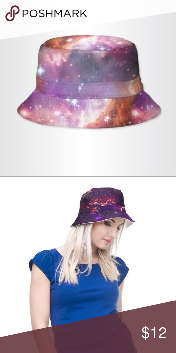 c7c5d1fd228 Universe Bucket Hat Fun and bright universe bucket hat. Beige lining.  Accessories Hats