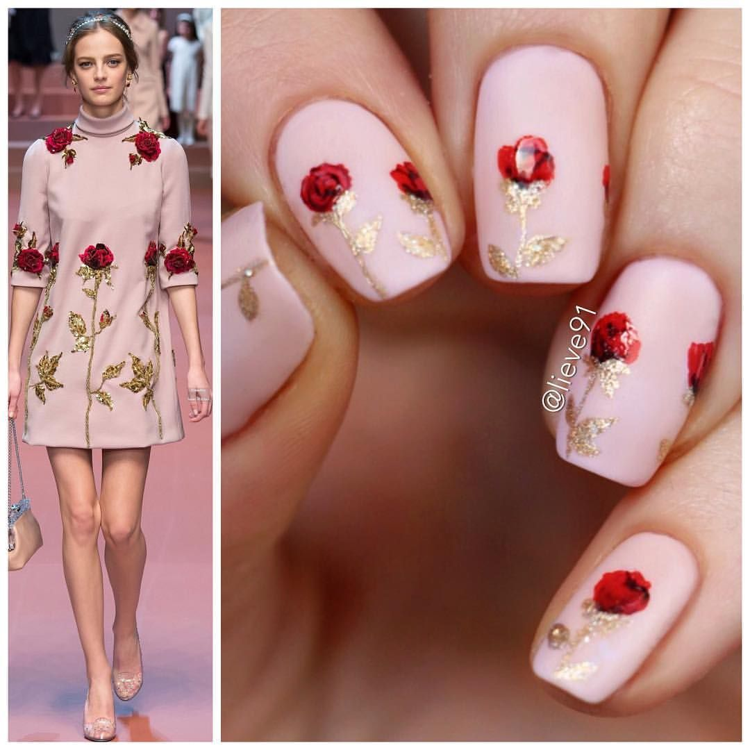 Lieve on instagram ucnew nails for today inspired by this