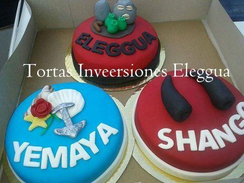 Tortas De Eleggua Yemaya Y Shango Para Santeros Cake Bakery Desserts