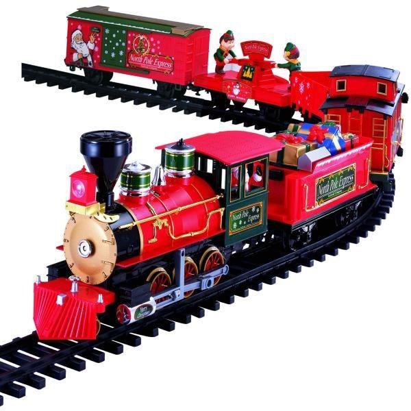North Pole Christmas Express Train Set-i Train - Buscar con Google ...