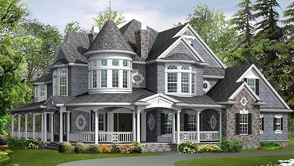 Plan 2384jd Award Winning House Plan Victorian House Plans Victorian House Colors Family House Plans