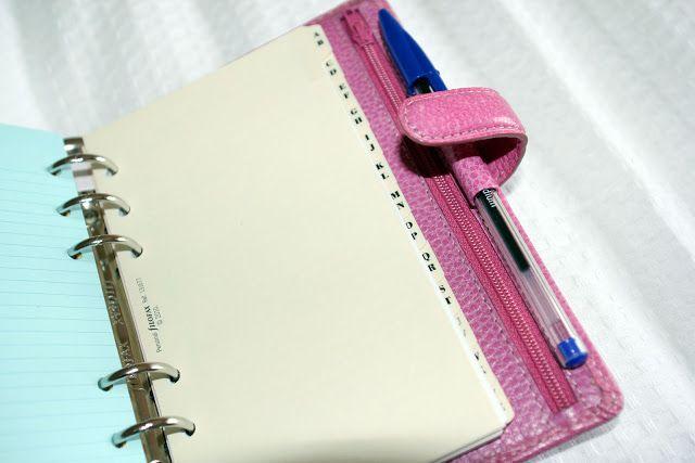 Anna Saccone: How I Keep Organised!