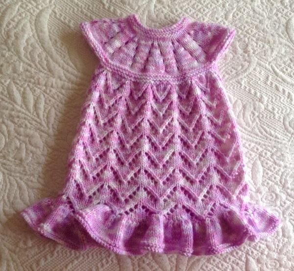 My take on this Lazy Daisy All-in-One Baby Dress. | Crafty ...