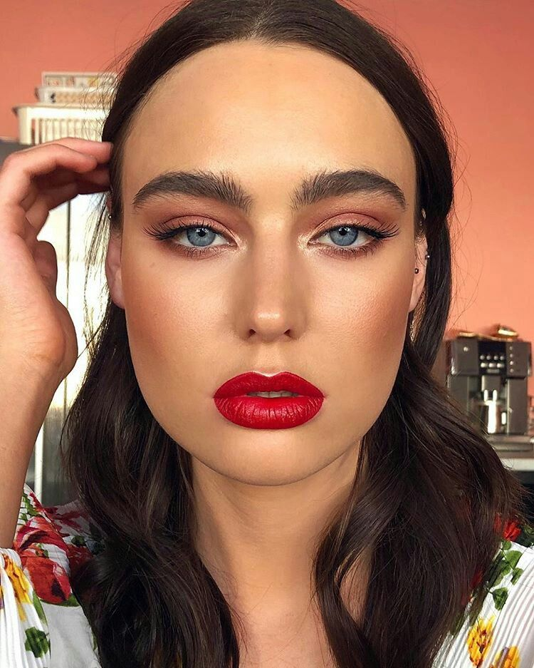 A Bold Red Lip Can Transform Any Makeup Look Red Lip Makeup Red