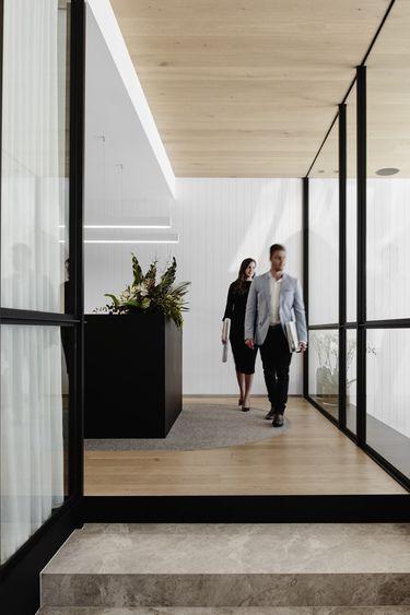 Zen Office Design project jmd office vic design practice nixon tulloch fortey