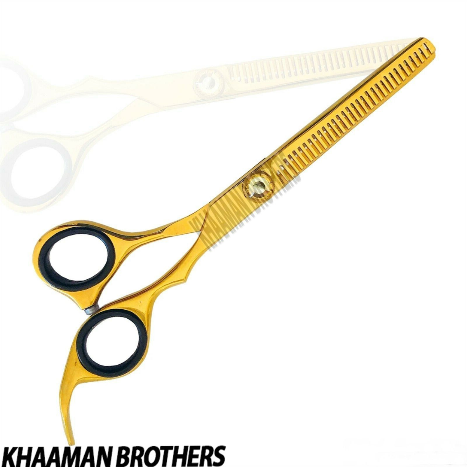 Hair Thinning Scissor In Gold Plating With Private Label Thinning Scissors Barber Scissors Hair Thinning Scissors