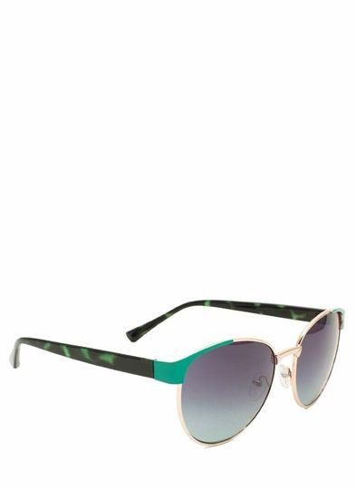 Contrast Corners Sunglasses