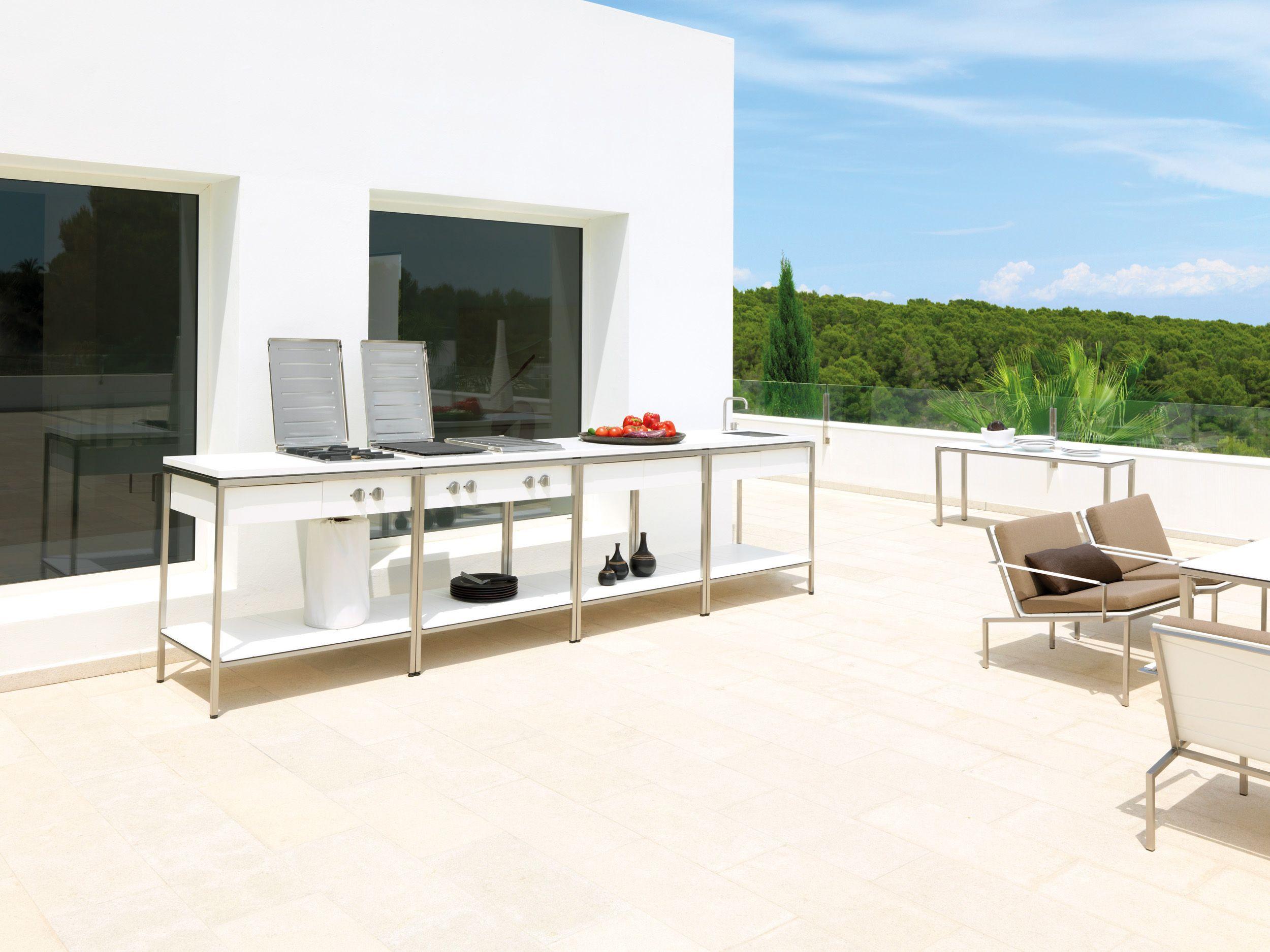 Outdoorküche Gas Ideal : Outdoor küche inox outdoorküche gas ideal studio jakarta
