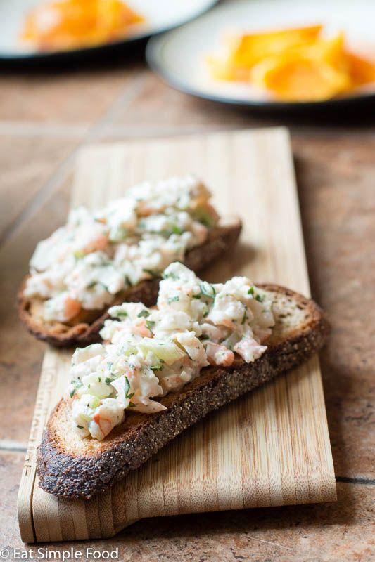 The Best Cold Shrimp Salad | Recipe | Food recipes, Shrimp salad recipes, Appetizer recipes