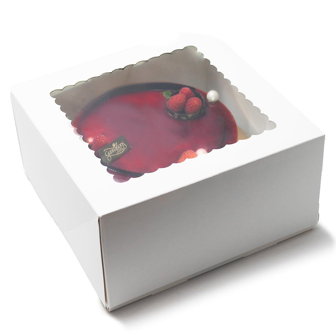 Cake boxes 10x10x5 pack of 25 cuisinerboxes dessert