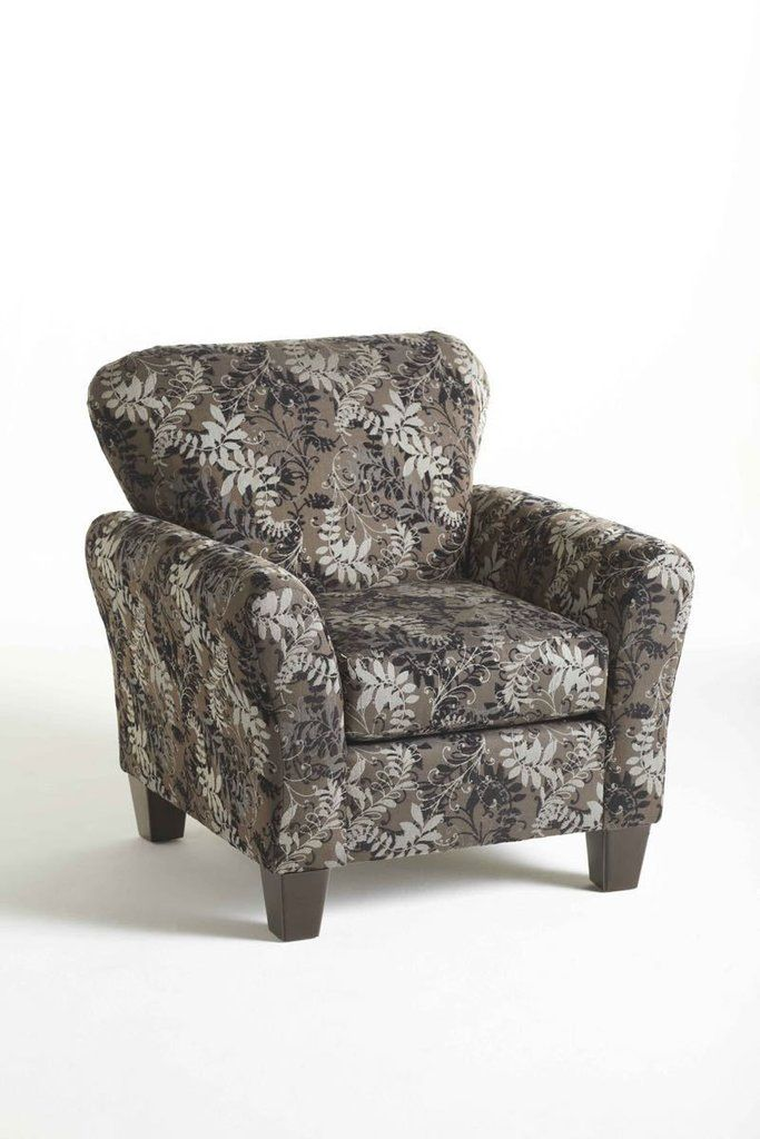 Candella Pewter Accent Chair By Serta Upholstery In 2020 Ashley