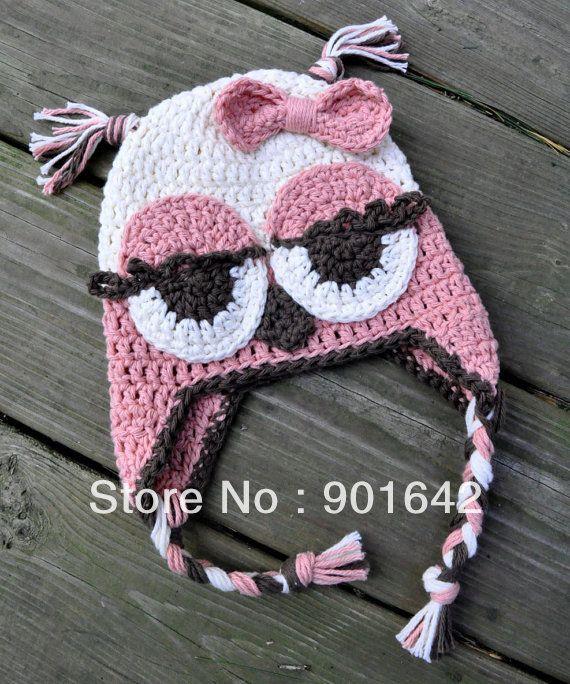Ojitos dormilones | capuchas | Pinterest | Owl, Nudos y Niñas