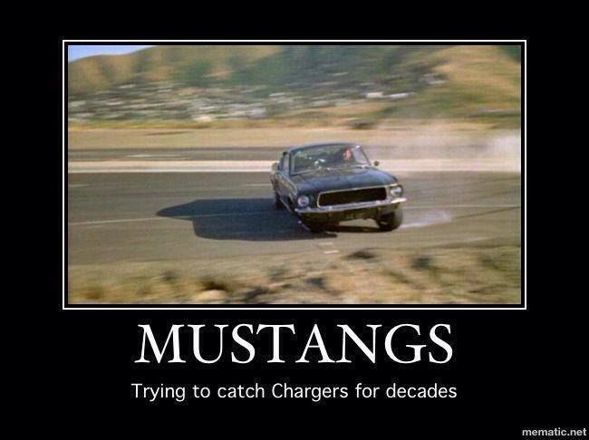 Mustangs - still chasing Chargers