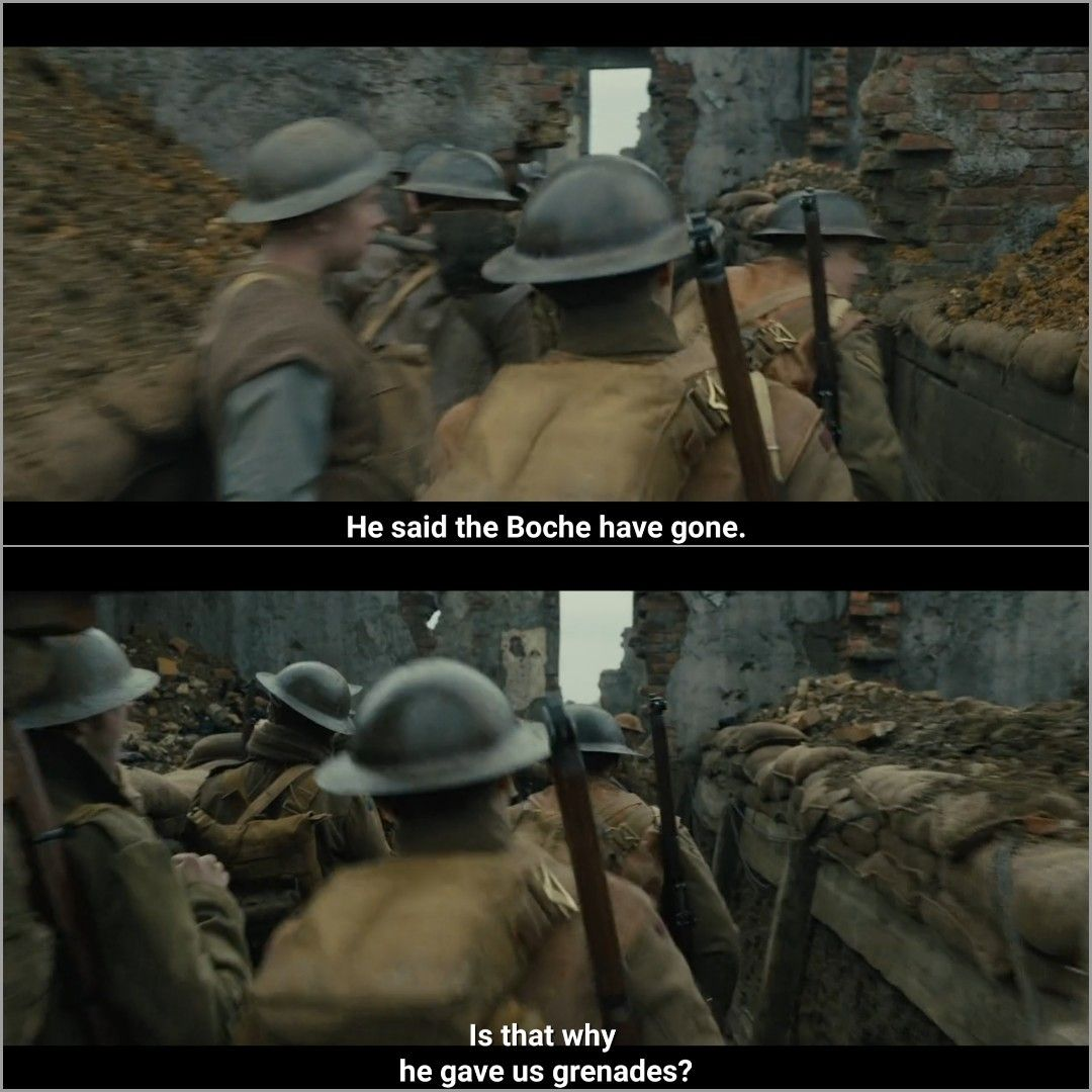 1917 2019 Movie Quotes Movies Sayings