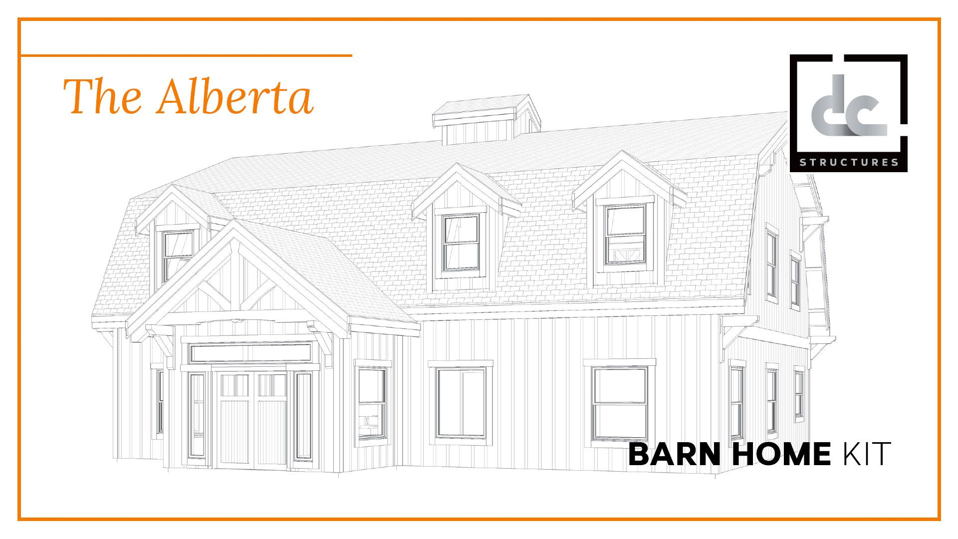 Superb The Alberta Barn Home Kit 3 Bedroom Gambrel Barn Home Download Free Architecture Designs Rallybritishbridgeorg