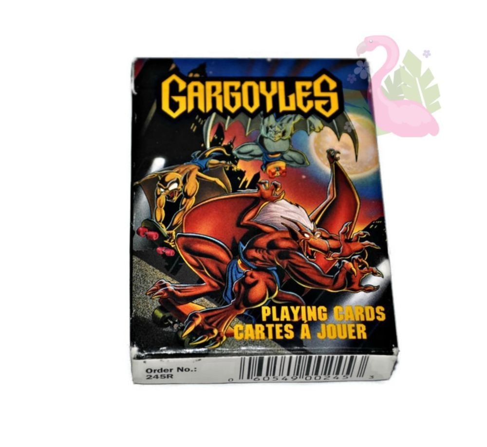 Gargoyles playing cards complete deck 90s disney animated