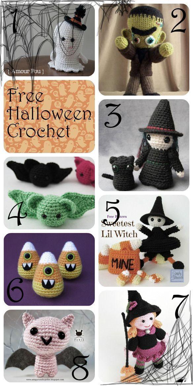 Halloween Patterns Crochet Haken Free Gratis Crochetknitting