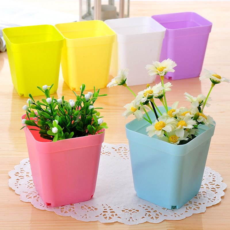 Httpcngreenhouses plastic pot for greenhouse cheap square pots buy quality small square pots directly from china colored flower pot suppliers random color flower pots with pot traysplastic pots workwithnaturefo