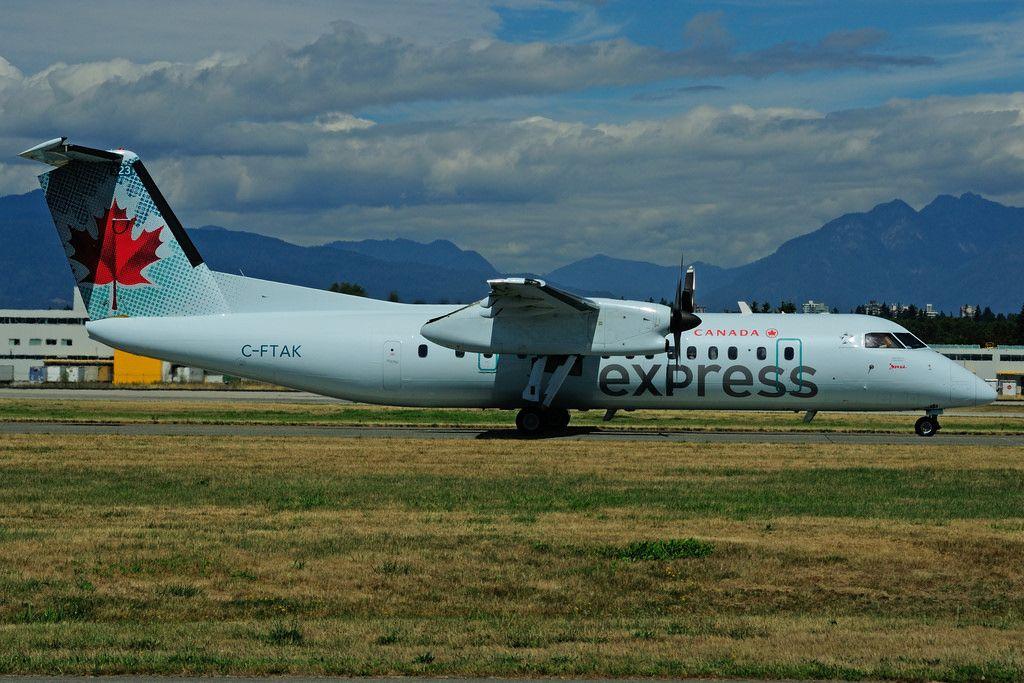 Air Canada Express Fleet (Jazz) Bombardier Dash 8300
