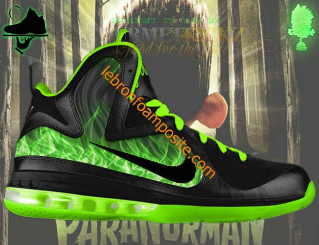 new product 2bd57 0842e New LeBrons Lebron 9 Elite ParaNorman Foamposite under   70.00