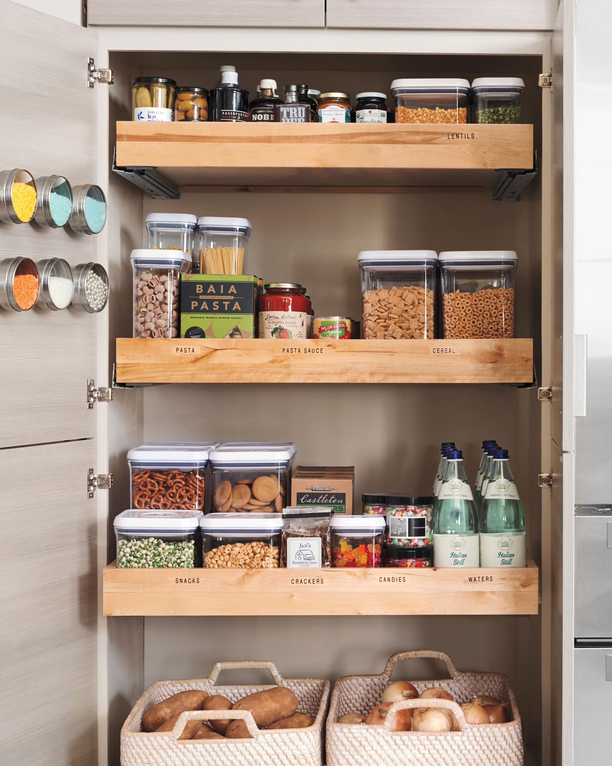 Small Kitchen Storage Ideas For A More Efficient Space In 2020 Small Kitchen Storage Kitchen Storage Solutions Kitchen Pantry Design