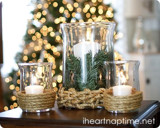 Christmas Decorating Ideas Vases