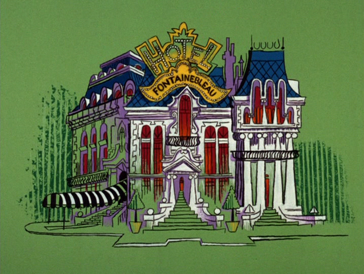 The Inspector Pink Panther Animation Background Pink Panthers Animation Design