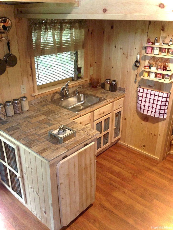 007 Gorgeous Cottage Kitchen Small Cabin Ideas Small Cottage Kitchen Tiny Kitchen Design