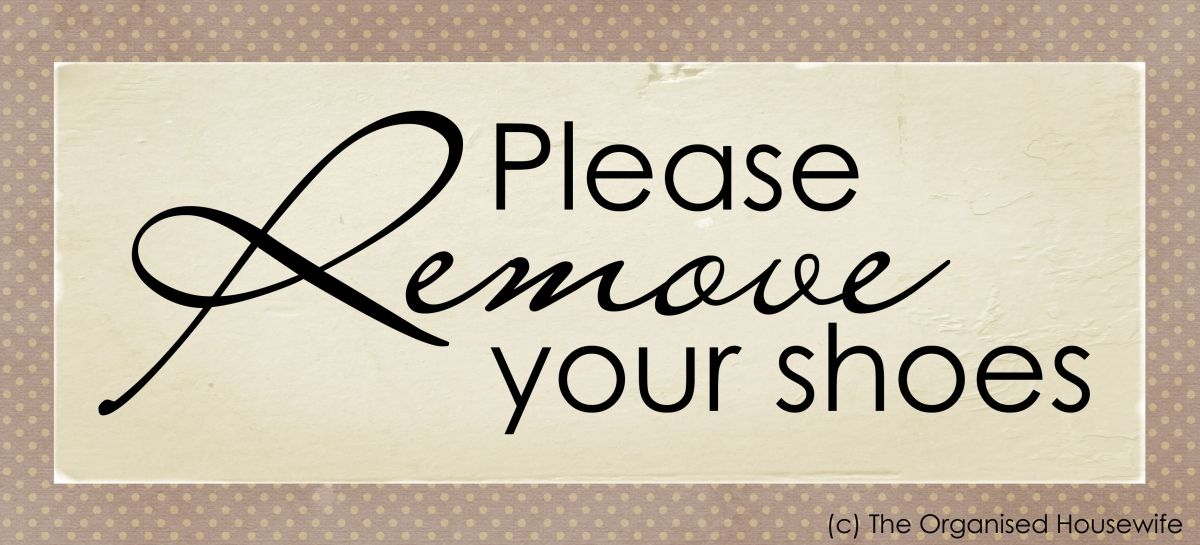 photograph about Please Take Off Your Shoes Sign Printable named Printable Make sure you eliminate your sneakers indicator establishing a Area