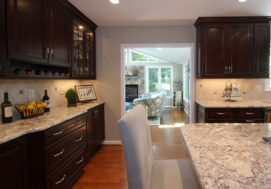 Beautify Your Kitchen Island and Cabinets with White ...