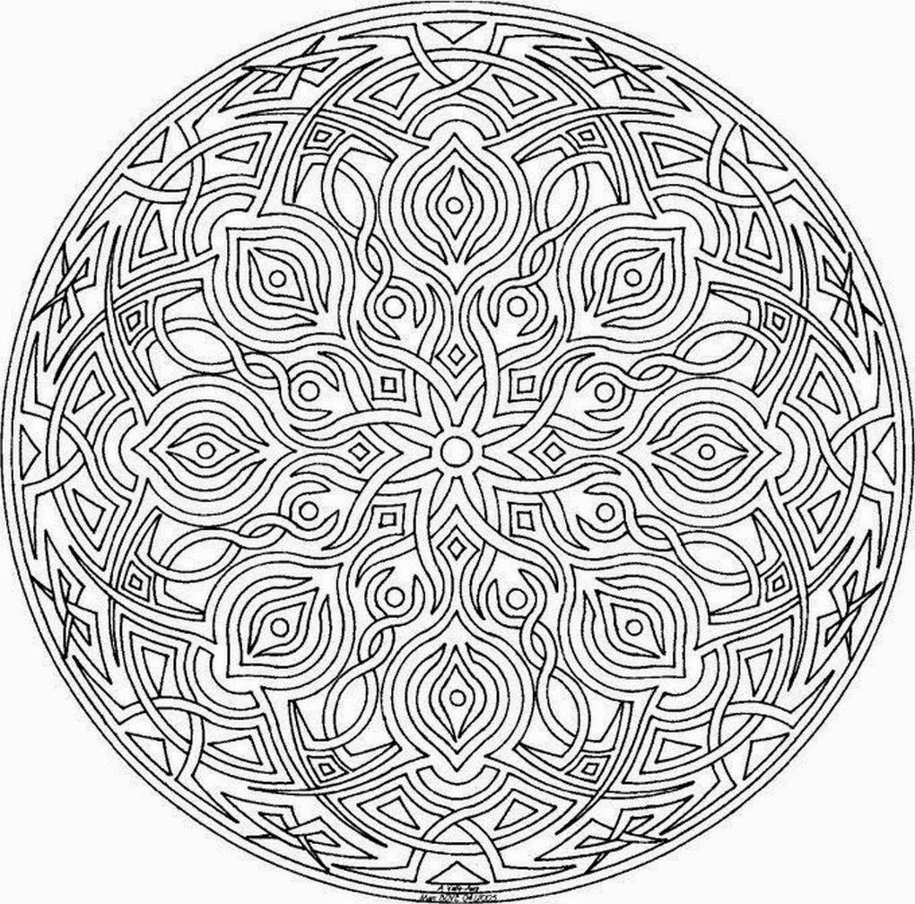 Mandalas Para Pintar … | Pinteres…