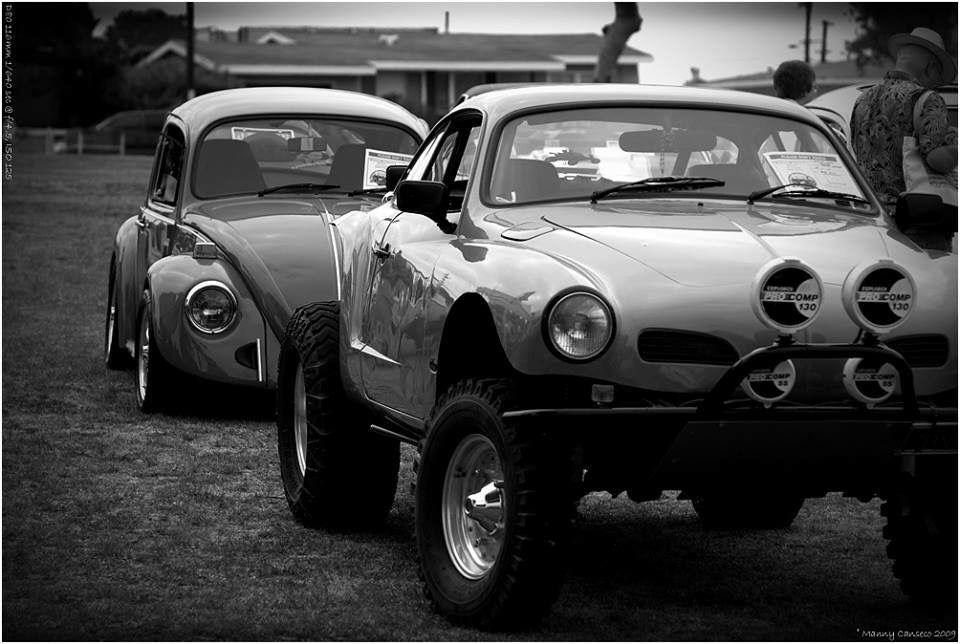 Baja VW Karman Ghia and Beetle