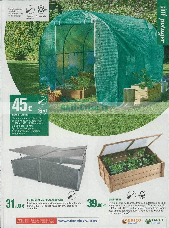 Serre De Jardin Leclerc Catalogue Leclerc Du 12 Au 23 Fevrier 2019 Jardin Serapportanta Di 2020