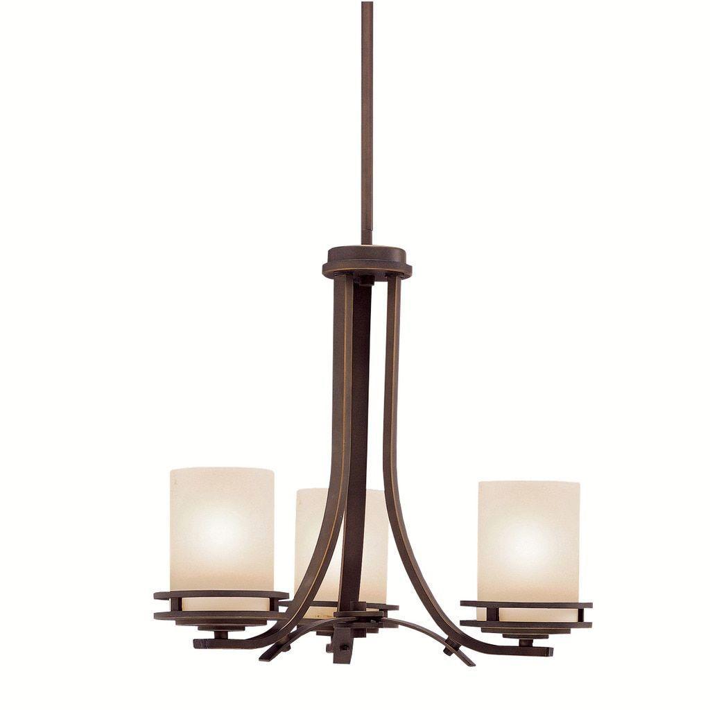 kichler lighting hendrik collection 3 light olde bronze chandelier
