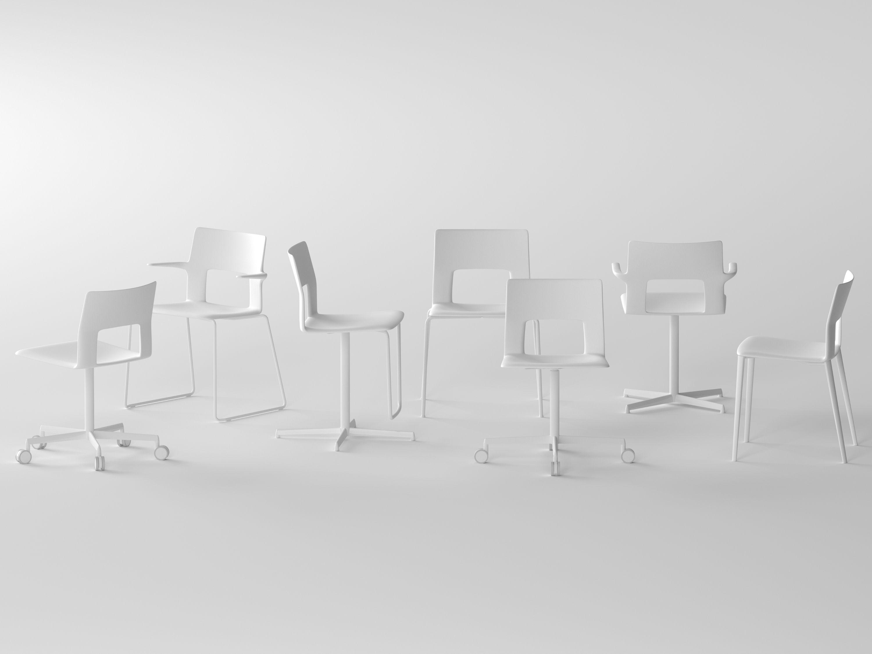 Kobe sedia ufficio operativa by desalto design piergiorgio