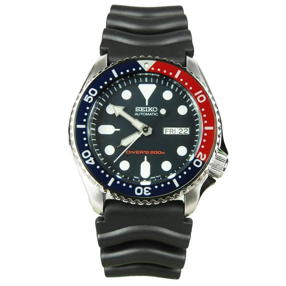 Seiko Automatic Diver s SKX009K1 Day date pepsi Bezel Diver SKX009 UK  SELLER in Jewellery   Watches bb5aa0f408