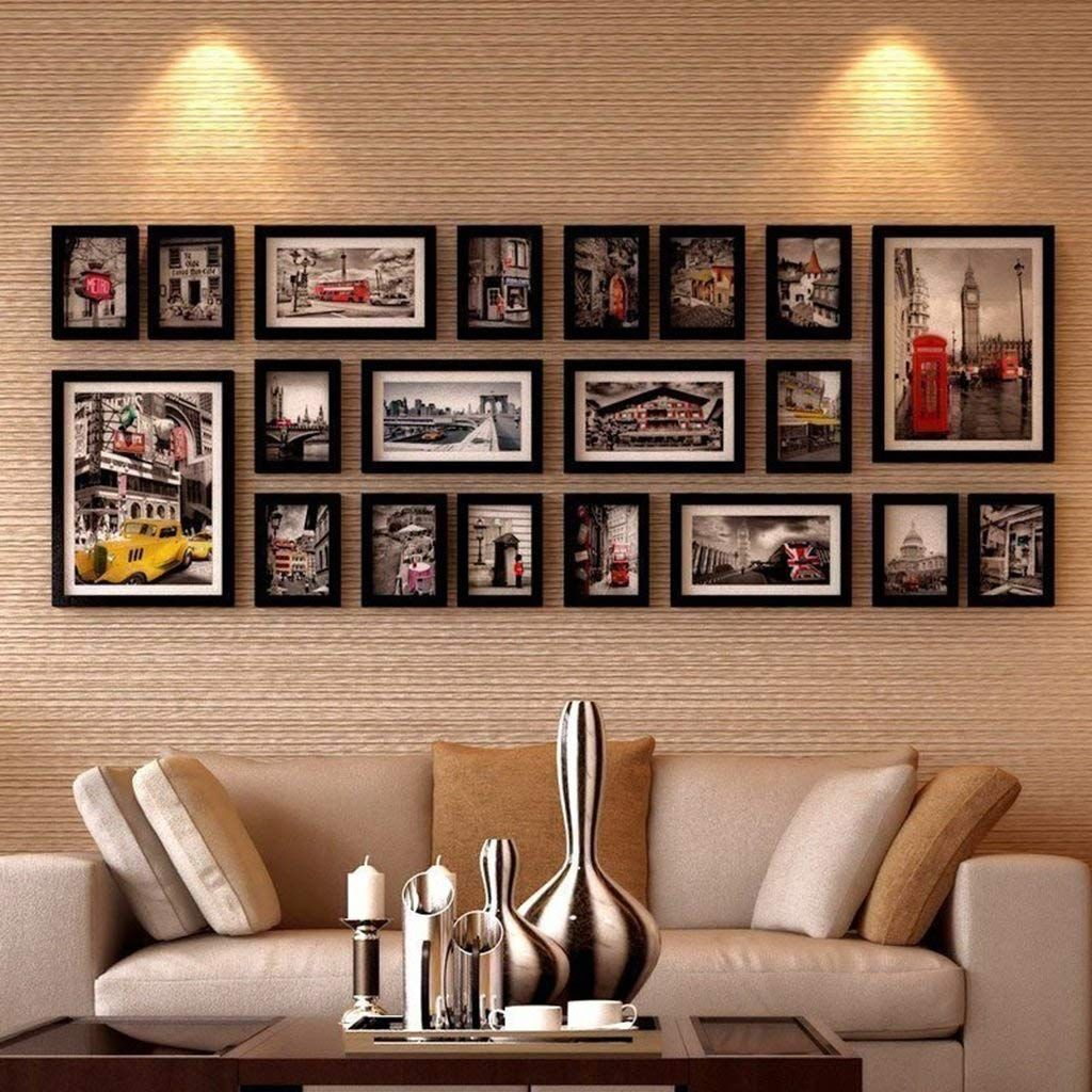Wedding Photo Framed Wall Collage Dream Home Domashnij Dekor Dom Dekor Sten