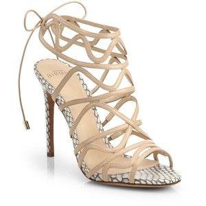 Alexandre Birman Snakeskin Caged Sandals sale limited edition outlet amazing price cheap huge surprise opimJX