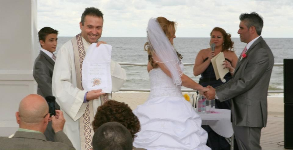 NJ Wedding Officiant Of The GLAM FAIRY TV Show SCOTT TODD MORNING SHOW Rev